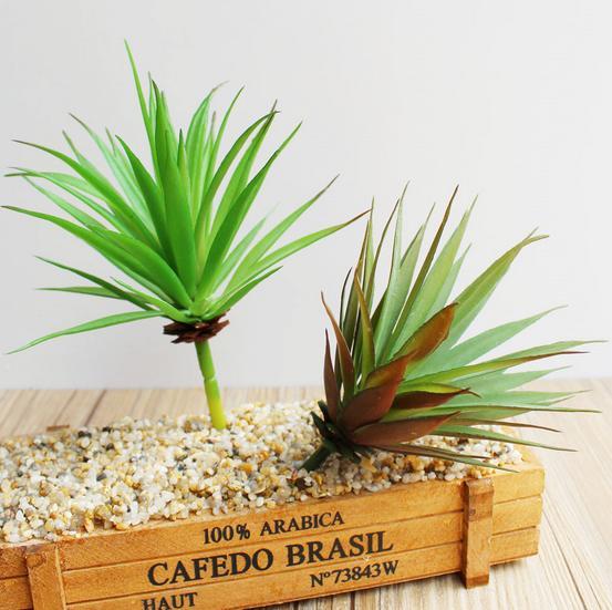Free shipping 4pcs/lot artificial flowers green Artificial Succulents Plants garden decoration suculentas artificiais