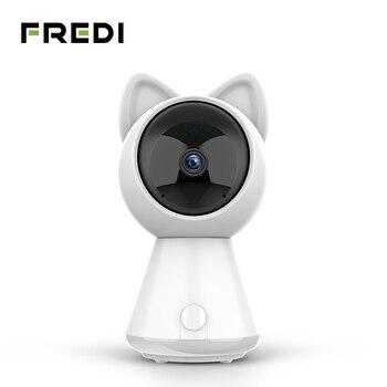 FREDI 1080 P Kitty Nuvem Inteligente Câmera IP Rastreamento Automático Da Câmera do CCTV Câmera de Vigilância de Rede Sem Fio Wi-fi de Segurança Em Casa