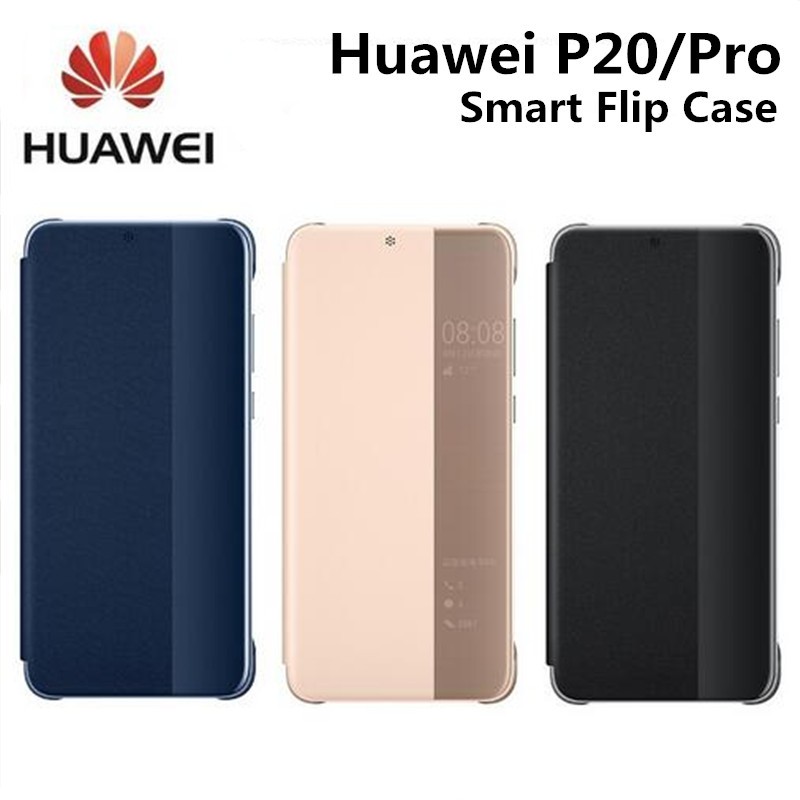 Brand Official Case for Huawei P20 P20 Pro Smart Flip Case for Huawei P20 Pro Original