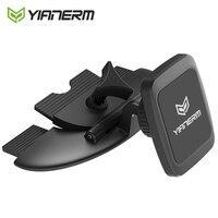 Yianerm-soporte magnético para ranura de CD, para teléfono, coche, iPhone X, Xs, Max, 7, 8 Plus, Samsung S8, S9 Plus