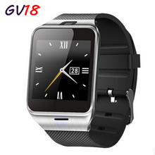 Wysoka wersja aplus smart watch gv18 dla android, bluetooth smartwatch, mtk6260 cpu, karty sim smart watch phone, gsm inteligentne zegarki