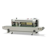 Автоматическая непрерывная Пластиковый мешок запайки с кодирования принтер FR 900