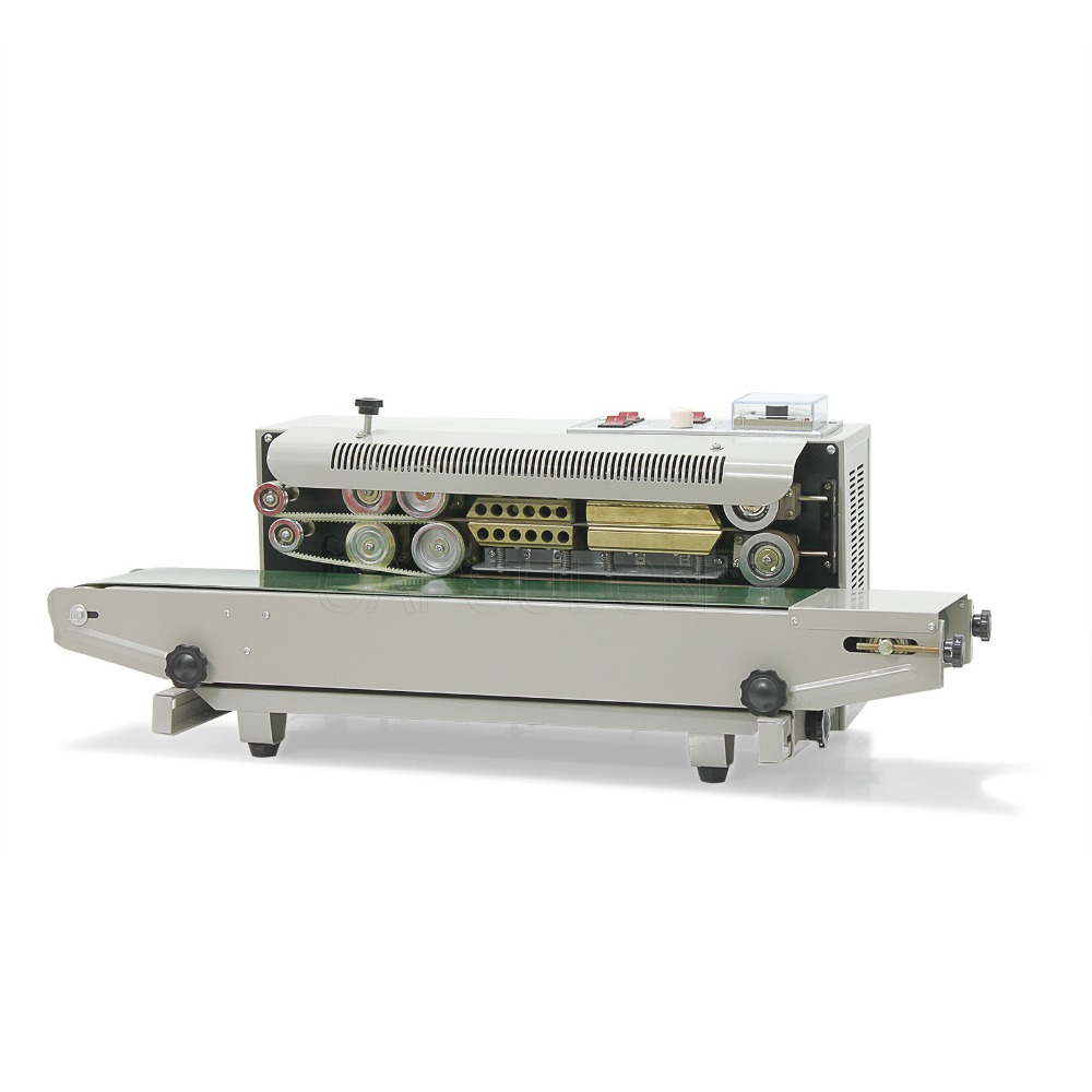 Automatic continuous plastic bag sealing machine with Coding Printer FR-900