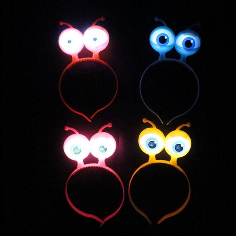 LED silmadega peavõrud – 10 tk komplektis