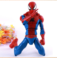 32CM Large Size Spiderman Toy Marvel Superheros The Amazing Spider man PVC Action Figure Collectible Model Kids Toys Doll SHAF58