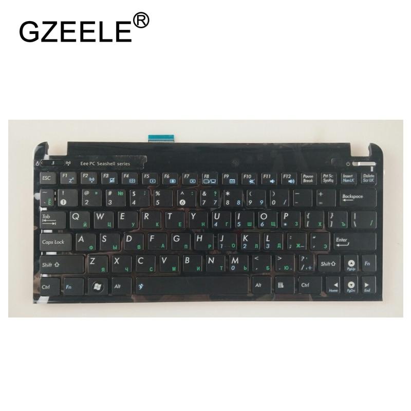 GZEELE Nouveau RU Clavier Russe Pour Asus Eee PC 1015 série 1015B 1015PW 1015CX 1015PD 1011 1015PX Avec Cadre Portable clavier