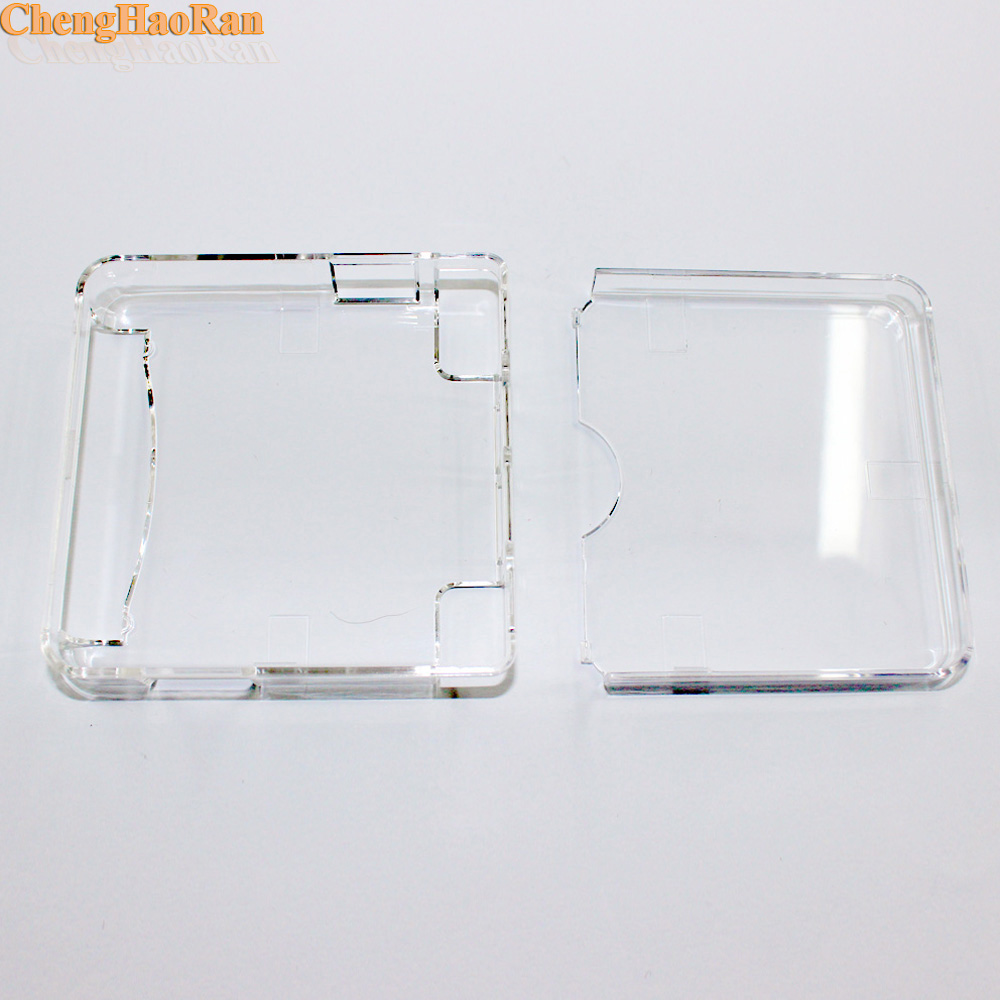 Image 4 - ChengHaoRan 10pcs High quality Clear Protective Cover Crystal Case Shell Housing For Gameboy Advance SP for GBA SP Game Console-in Replacement Parts & Accessories from Consumer Electronics