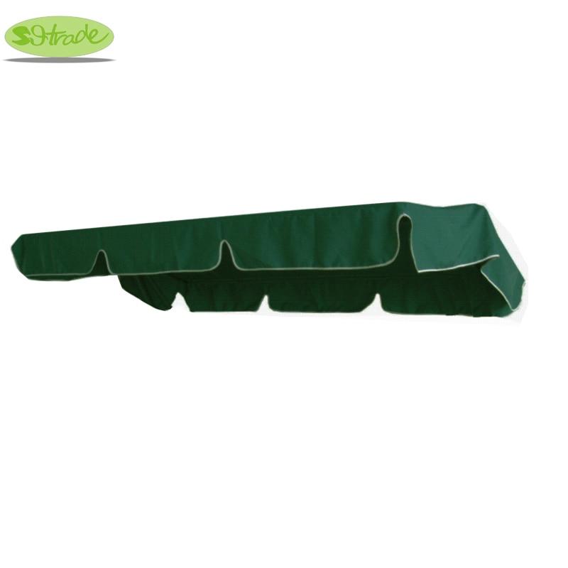 """Canopy vervanging voor grote schommel, luifel accessoire-donker groen 86.61 """"x49.21"""" / 220x125cm gratis verzending"""
