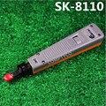 SK-8110 Rede de Fibra Óptica da Rede RJ45 RJ11 Fio Cut Off Impacto Ferramenta Punch Down Em 110 Tipo