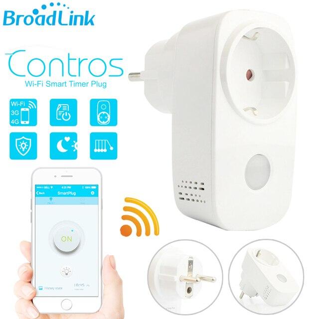 Broadlink casa inteligente wifi inteligente tomada temporizador tomada ue EUA 15A Interruptor de Tomada De Controle Remoto Sem Fio Via Andriod APP IOS