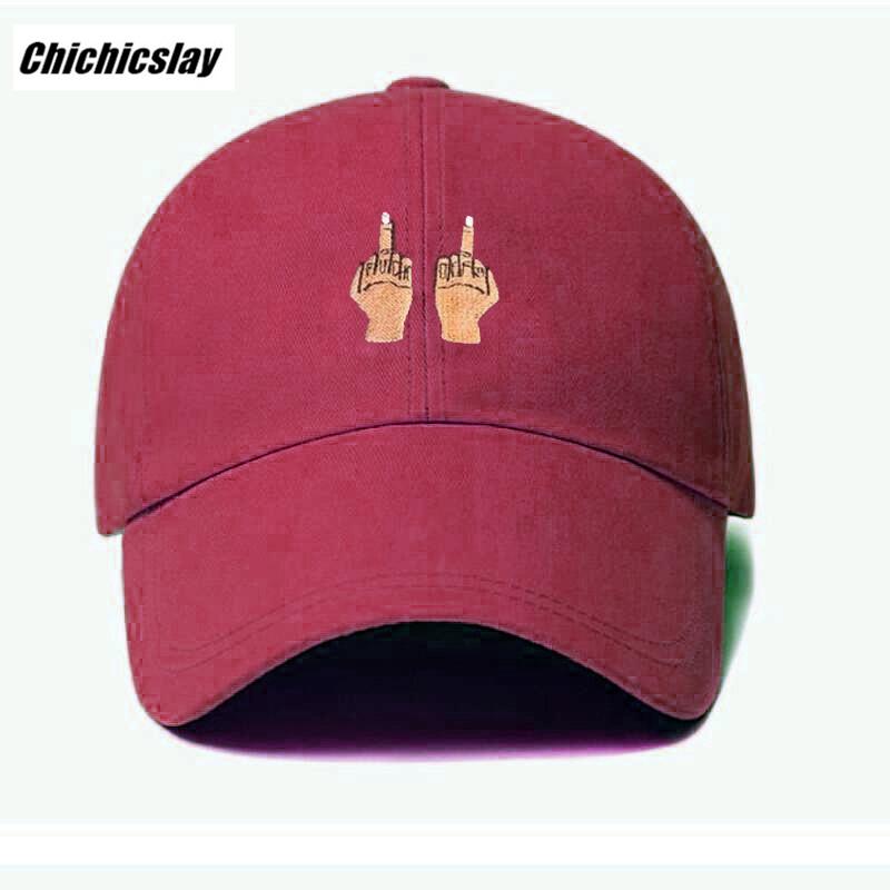HTB1k9cVSXXXXXbNaFXXq6xXFXXXF - Middle Finger Strap Baseball Hat Snapback Caps