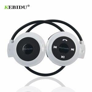 Image 3 - Kebidu TF + FM + MP3 Nekband Elastische Gevouwen Hoofdtelefoon Draadloze Headset Oortelefoon Handsfree Sport Mini Bluetooth 5 Kleuren Beschikbaar