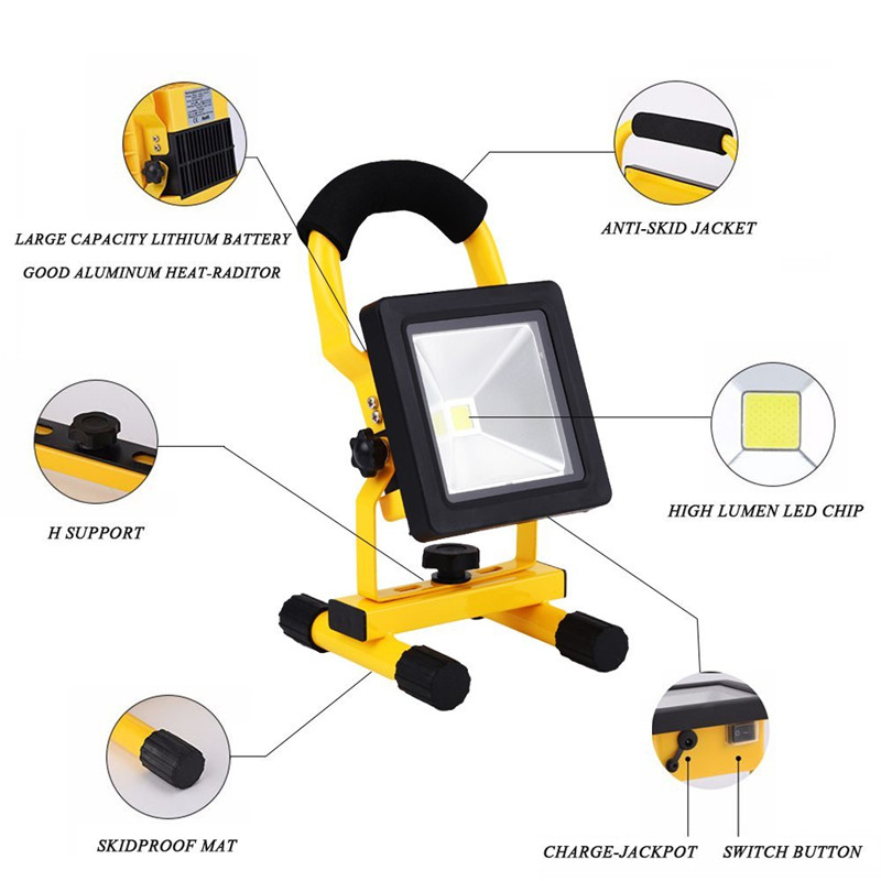 Rechargeable camping charger portable