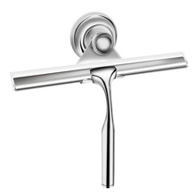 Yooap Shower Squeegees, Stainless Steel Window Squeegees with Suction Cup Hook for Bathroom Mirror Glass Cleaning