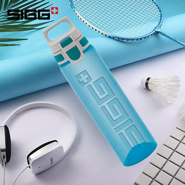 Sigg חיצוני ספורט בקבוק נייד גדול קיבולת יד בקבוק קל פתוח פלסטיק בקבוק מים כושר בקבוק 0.75 ליטר