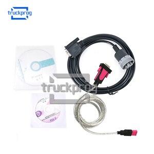 Para Thermo modelo Wintrac carretilla elevadora herramienta de diagnóstico con modelo Wintrac termo-rey Diag Software USB Cable conector de diagnóstico