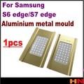 1 unids vacío para samsung s7 edge s6 edge g9250 molde de metal molde LCD Pantalla de Laminación y Posicionamiento Alineación con bodega y toque