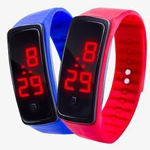Boy Girl Kids Fashion Sports LED Watch Electronics Digital Watch Silicone Running Bracelet Women Men Wrist Watch Dropshipping цена