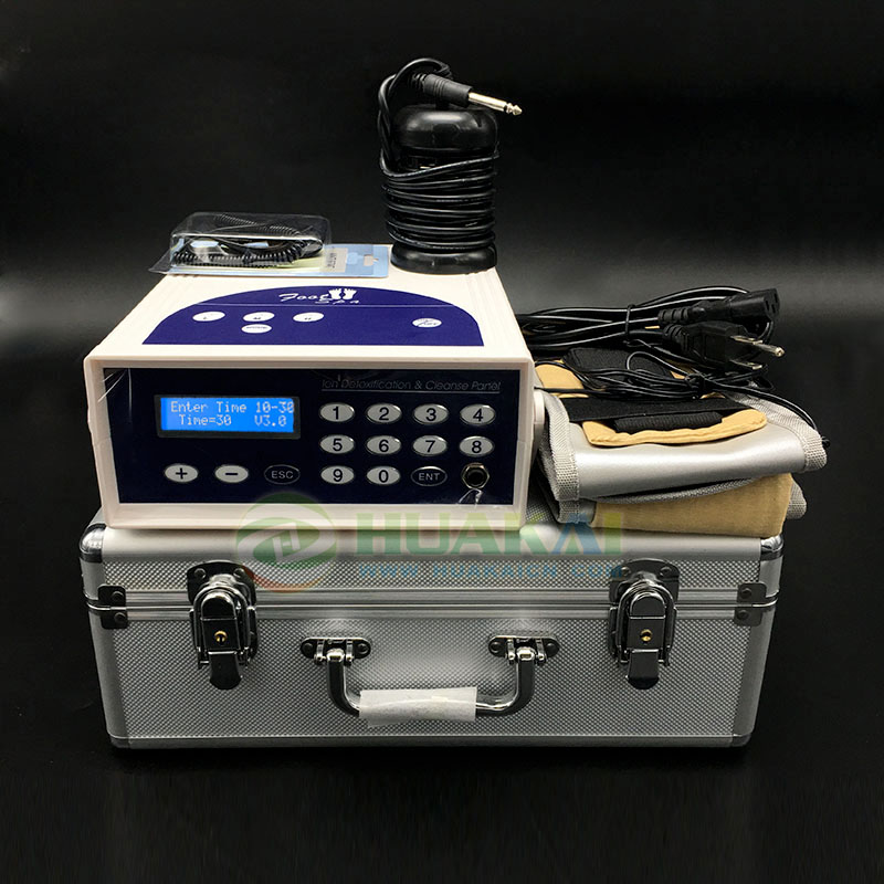 Single use ionizer cleanse detox foot spa for salon use or home use ion cleanse foot detox machine for salon use or personal use
