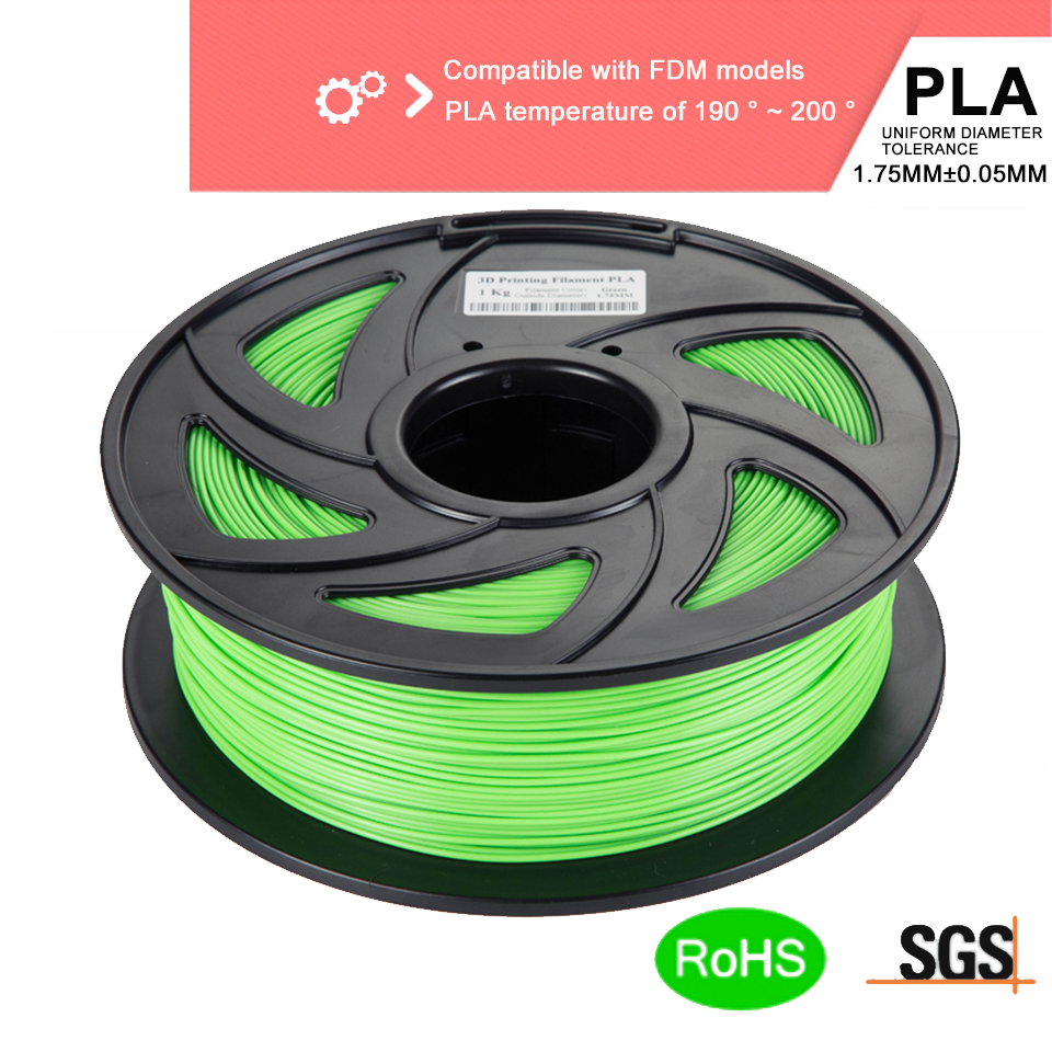 3D Printer Filament PLA 1.75mm 3D Printing Materials 1KG