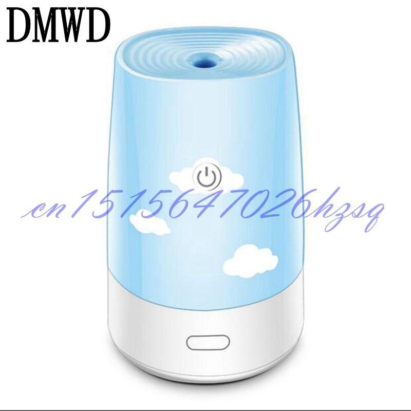 DMWD Mini HUmidifier USB office desktop bedroom household silent portable humidifier 2W small power hks silent hi power на chaser