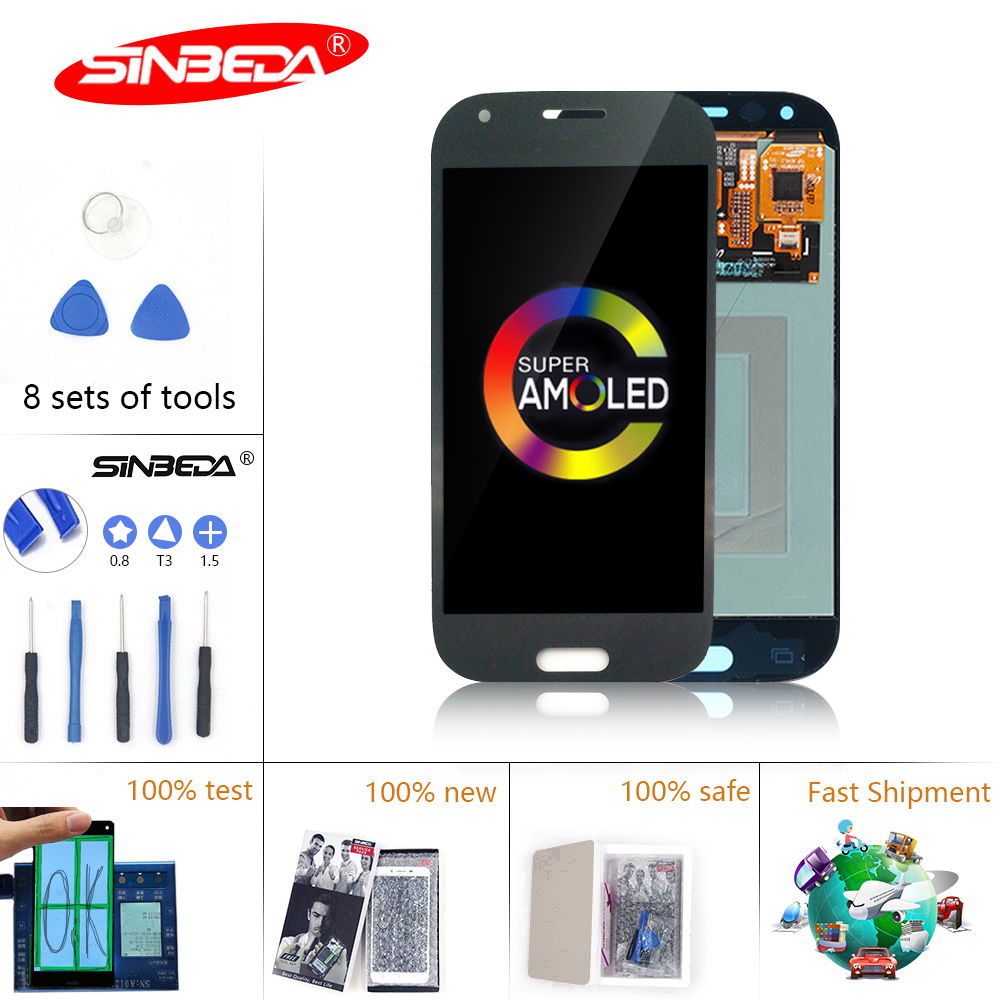4.3Sinbeda AMOLED For SAMSUNG Galaxy Ace 4 LCD Touch Screen Digitizer For SAMSUNG G357 LCD G357F G357FZ LCD Display