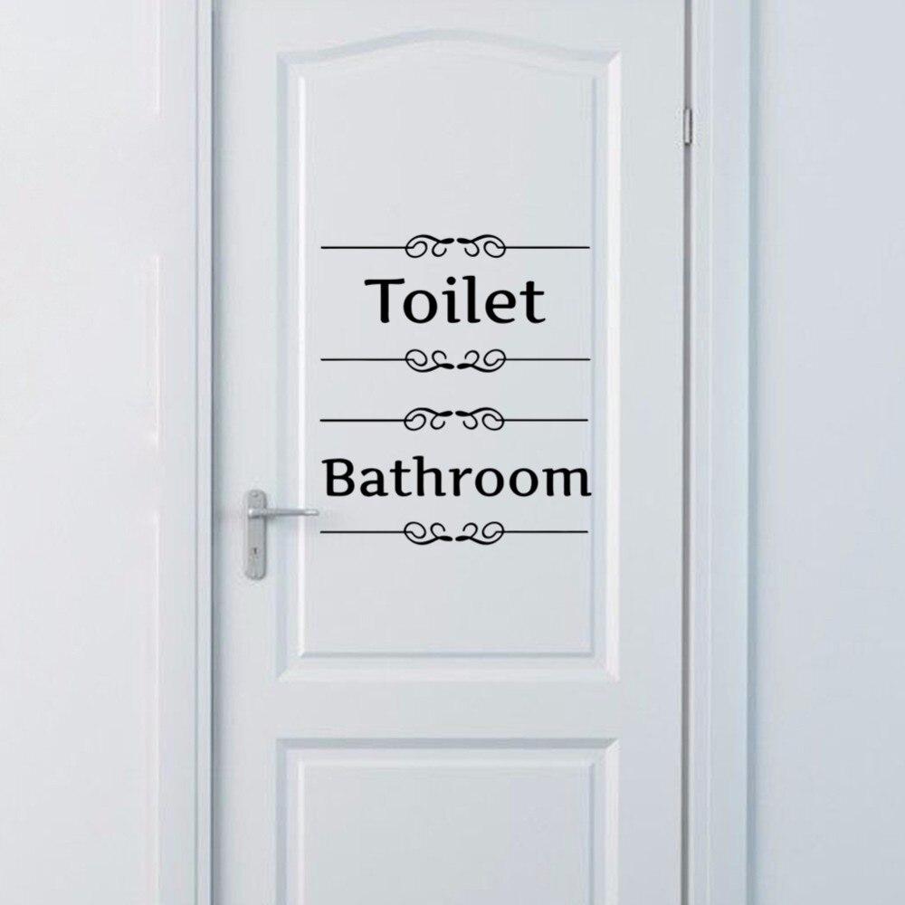 """Kleeps uksele – """"Toilet"""" või """"Bathroom"""""""
