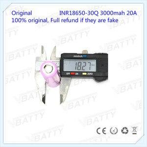Image 5 - Оригинальный аккумулятор для Samsung 18650, 3000 мАч, 18650 30Q, 3,7 В, литий ионный аккумулятор (1 шт.)