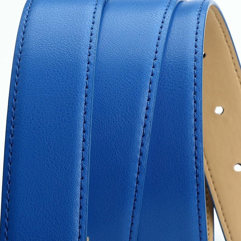 CASTELLES Formal Belts For Women 6 colors Designer Fashion Female Belt Woman High Quality Genuine Leather Cinturones Mujer (9)