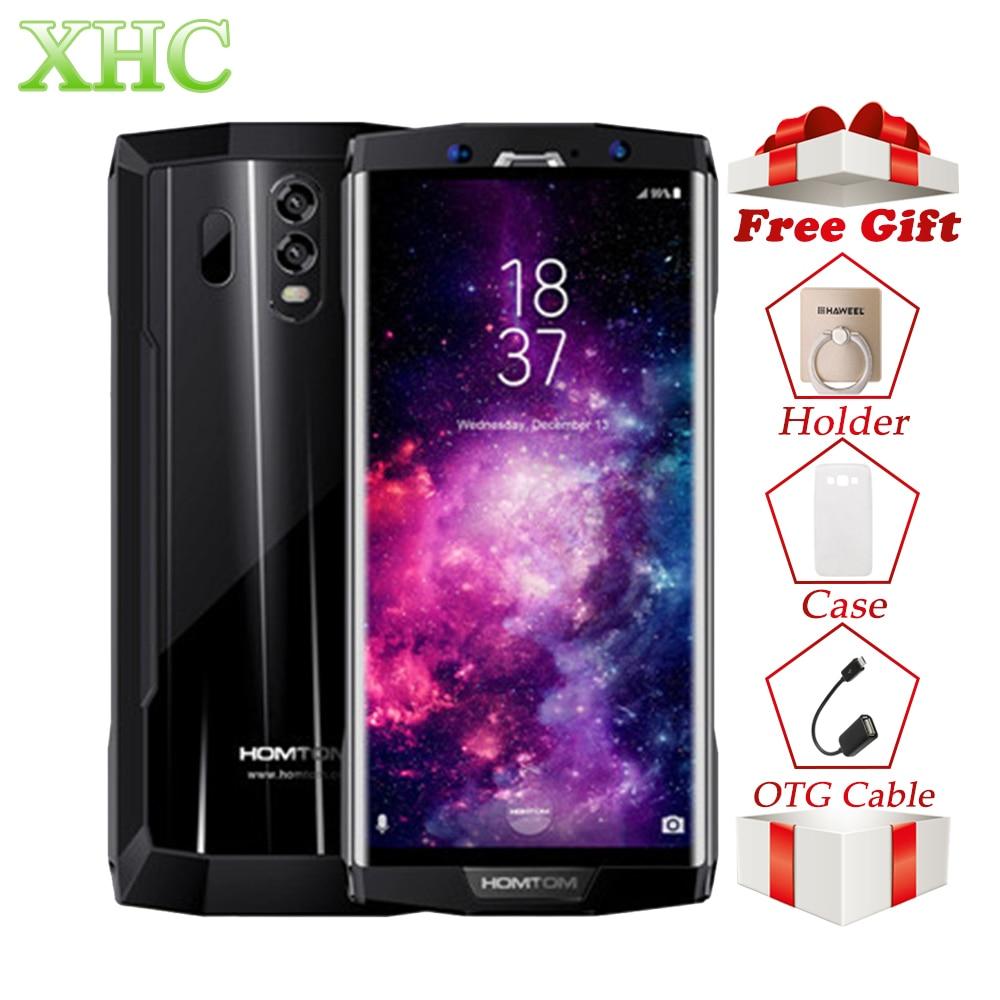 HOMTOM HT70 10000 mAh Smartphones 6.0 Android 7.0 4G RAM 64G ROM MTK6750T Octa Core 16MP + 5MP OTG OTA GPS Double SIM Mobile téléphones