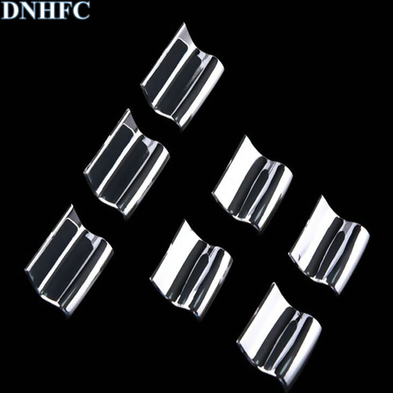 DNHFC car styling ABS 7PCS/SET Car window lift buttons decorate sequins for <font><b>Toyota</b></font> <font><b>RAV4</b></font> Corolla Camry 2012 -<font><b>2018</b></font> car <font><b>accessories</b></font> image