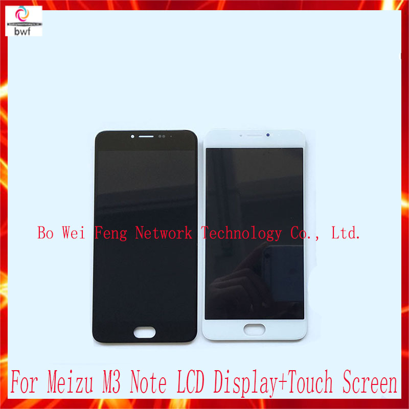 ФОТО 10Pcs/lot LCD Screen for Meizu M3 Note Original Replacement Accessories LCD Display+Touch Screen for Meizu M3 Note Free shipping