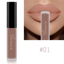 NICEFACE Lip Gloss  Nude Matte Liquid Lipstick