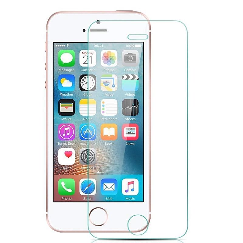 For iPhone 5 5S 6 6S 7 8 Plus X XR XS 11 Pro Max Tempered ապակե - Բջջային հեռախոսի պարագաներ և պահեստամասեր - Լուսանկար 2