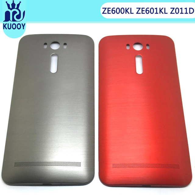 new product 5784f baca7 US $8.45 |Battery Back Cover For ASUS Zenfone 2 Laser ZE600KL ZE601KL Z011D  6 Inch Battery Door Back Case With Power Button Housing-in Mobile Phone ...