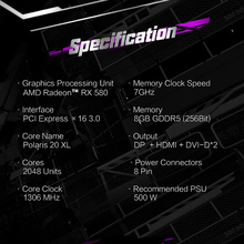 Gaming Desktop PC Video Graphics Cards