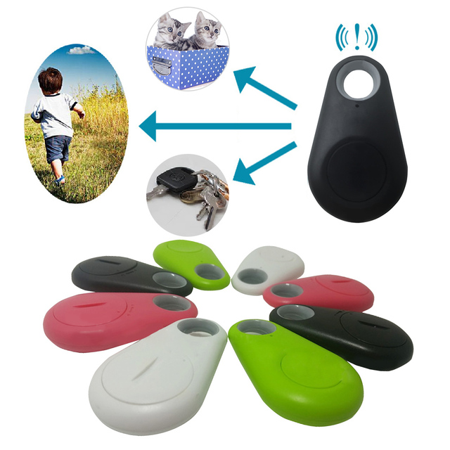 Para Mascotas Mini Rastreador GPS Inteligente Bluetooth Anti-perdido Dispositivo Inteligente dispositivo Anti-robo localizador 3