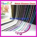 12pcs Fresh Colors Copper Sunglasses Eyewear Glasses Spectacle Sungass Eyeglasses Cord Chain Strap Lanyard free shipping L503B
