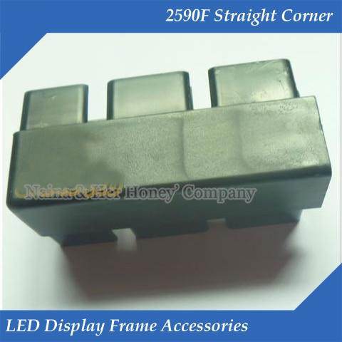 2590F Straight Corner LED Display Frame Accessories