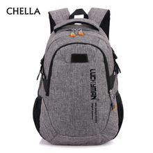 Men Women Backpack Canvas Anti-theft Backpacks New Fashion Large Capacity Travel Bag Grey Boy Girl School Bags Mochila BP0227