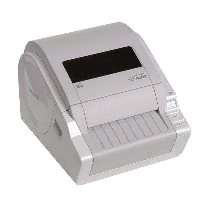 Label Machine TD-4000 Thermal Computer Label Printer Portable Self-adhesive Label Bar Code Printer