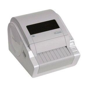 Image 1 - آلة صنع الملصقات TD 4000 الحرارية طابعة التسمية الكمبيوتر المحمولة ذاتية اللصق التسمية شريط طابعة رموز