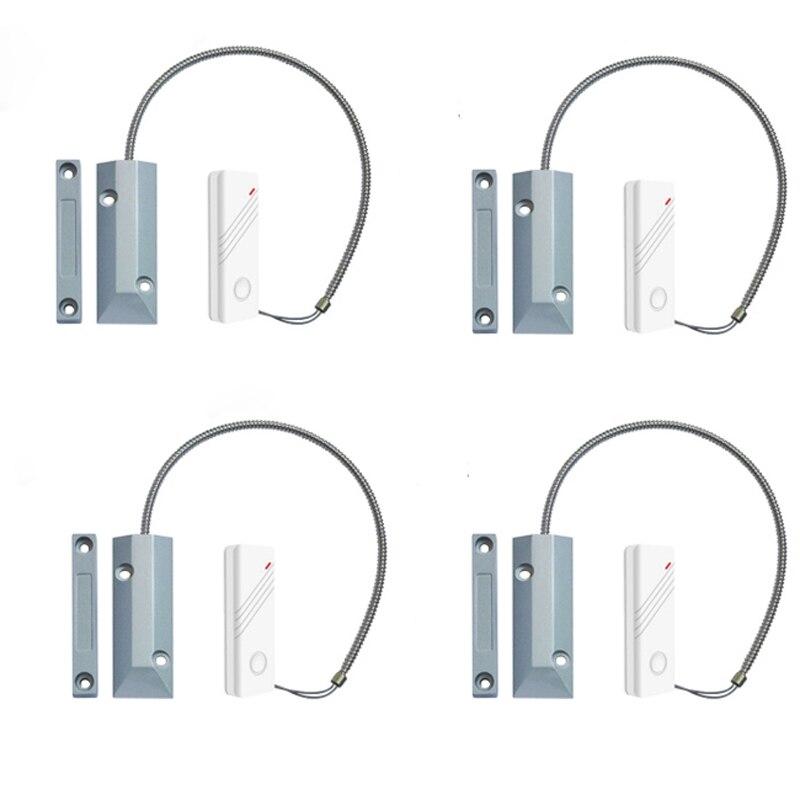 Détecteur sans fil 433 MHz de capteur d'écart de Contact de porte de rouleau de volet spécialement pour la porte de rouleau de volet