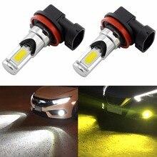 2 шт. H8 H11 H16 светодиодный лампы H10 9145 9140 HB3 9005 HB4 9006 PS X 24 W 2504 H7 светодиодный противотуманный свет лампы 6000 k белый/3000 К золотисто-желтый