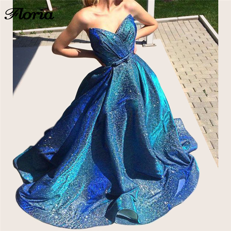 Fashionable Arabic Sexy Evening Dresses Abiye Dubai African New Formal Prom  Gowns For Weddings Glitter Vestido de2adc551738