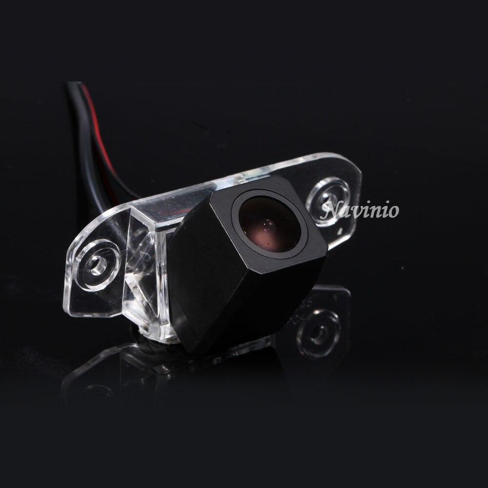 HD 1280*720 Pixels 1000TV ligne Pour volvo S80 SI40 XC60 S40 C70 S80L S40L XC90 voiture vue arrière arrière arrière parking caméra