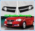 2 pcs Frete Grátis Para VW Polo 2005 2006 2007 2008 2008 2010 Novo LED DRL Daytime Running Light Com Cabo de Chicote De Fios