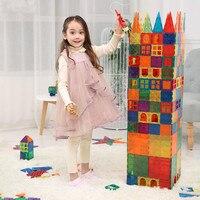 子供の色ウィンドウ磁気チップマニュアル Diy ビルディングピース磁石ブロックマグネットタイル子供磁気建設おもちゃ