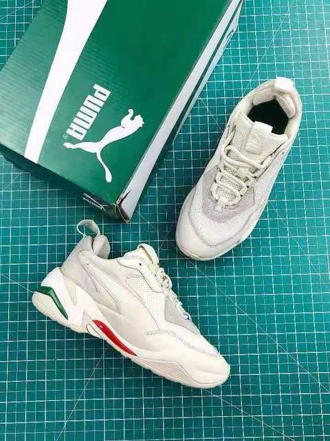d42ebffd628d94 PUMA Thunder Desert Sneakers Men Women Sports Shoes 367516-12 Badminton  Shoes Thunder Spectra Retro Dad Shoes 36-45