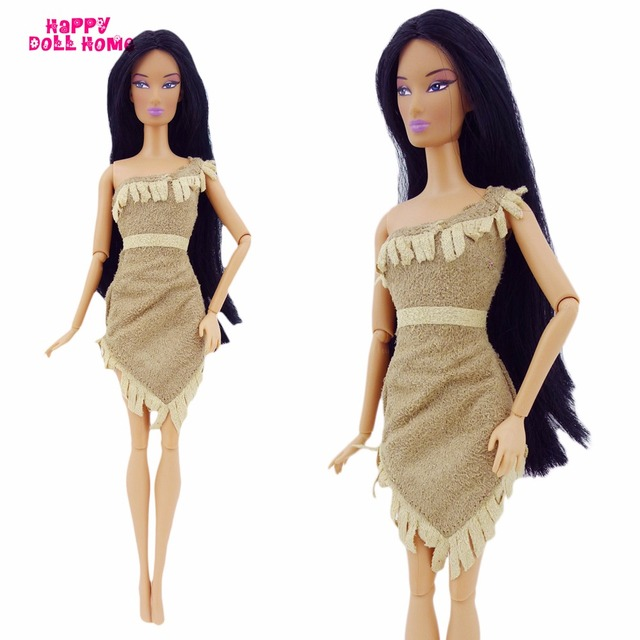 Fairy Tale Indian Princess Dress For Pocahontas Costume Primitive Tribe Clothes For Barbie FR Doll 11.5  sc 1 st  AliExpress.com & Fairy Tale Indian Princess Dress For Pocahontas Costume Primitive ...